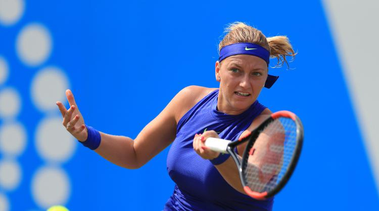 Petra Kvitova progresses to semi-finals in Birmingham as she continues comeback