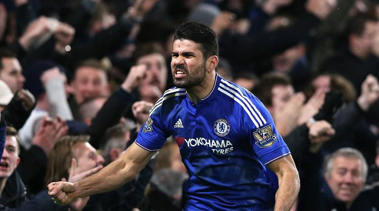 Diego Costa rescues Chelsea and deals Manchester United a title blow