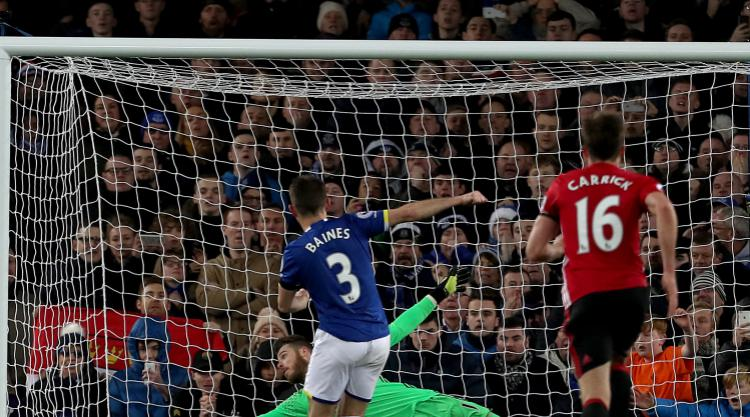 Marouane Fellaini and Manchester United pay the penalty at Everton