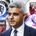Mayor of London Sadiq Khan asks Arsenal, Chelsea and co for coronavirus support