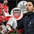 Arsenal boss Mikel Arteta singles out three players after dominant Newcastle win
