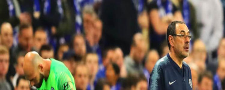 Remembering the Kepa Arrizabalaga/Maurizio Sarri meltdown in 2019