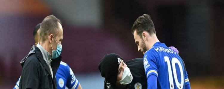 Injury update on James Maddison after Leicester win over Aston Villa