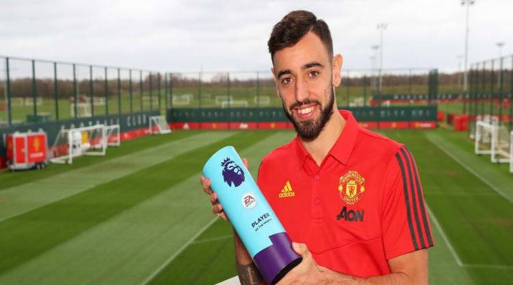 Bruno Fernandes Determined to Keep Improving at the 'Best Club in England'
